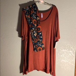 3XL Outfit - LulaRoe Perfect T Tunic Top & Legging